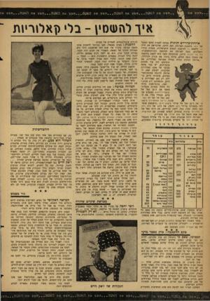 העולם הזה - גליון 1235 - 17 במאי 1961 - עמוד 20 | האשה חפש את האשה חפש את האשד חפש את האטה חפט את האשה חפשא איויהעזסץ -בי ןאלו רי ו ת ארוחת־צהריים חגיגית נערכה לחברת הוועד הפועל של ויצו. מתכננת הארוחה, חנר,