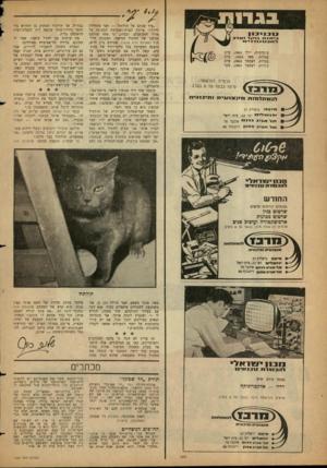 העולם הזה - גליון 1320 - 26 בדצמבר 1962 - עמוד 2   ״עוד מכתב על תולתול — ואני מתחילה ליילל!״ איימה חברת־ר,מערכת הממונה על מדור המכתבים, ובצדק. כי מאז פורסם מכתבו של החתול הסיאמי, המכונה תול־תול (העולם הזה