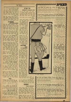 העולם הזה - גליון 1340 - 15 במאי 1963 - עמוד 10 | תצפית במדינה כל הז כויו ת ״.ומורות • קיים חשש של החמרת יחסו האישי של הנשיא קנדי תל־אביב למדינת ישראל. לא תהיה זו תוצאה של חילוקי־דעות טל המי שור המדיני, כי יאם