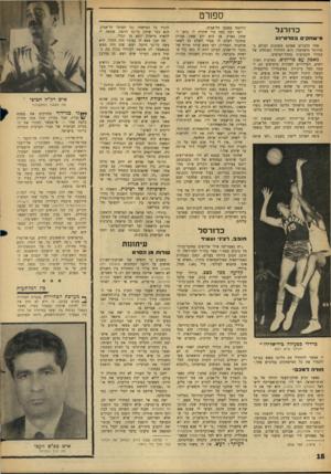 העולם הזה - גליון 1476 - 15 בדצמבר 1965 - עמוד 18 | ספורט כדורגל מ־ שחק־םבסרט ־נ ע אחד הדברים שאינם משתנים לעולם בכדורגל הישראלי, הוא הזילזול המוחלט של מנהלי הקבוצות בקהל־הצופים. מאבק עם בריונים. במרבית המיג-