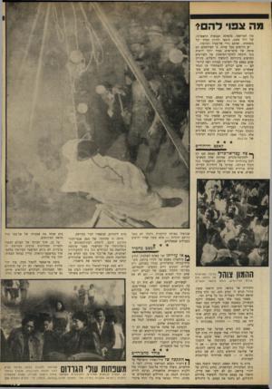 העולם הזה - גליון 1640 - 5 בפברואר 1969 - עמוד 15   קא 88 והיהודים ^ צח עבד־אד־כרי 8קאסם שם קץ 1לוזקופת־ביניים, שהיתר, אחת המאושרות בתולדות יהודי עיראק. … ביום בו נרצח קאסם, וגופתו הוצגה בפני צופי הטלביזיה