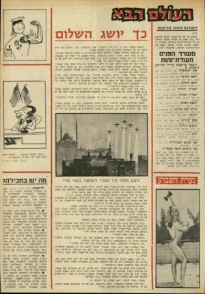 העולם הזה - גליון 1692 - 4 בפברואר 1970 - עמוד 39 | פ £ 0 3־ { ס 6פ£3 ת עו דו ת־ז הו תחד שו ת בתוקף צו של שר־הפנים, תיכנס לתוקפה החל ב־ט׳ באדר א׳ תש״ל החובה להחליף את כל תעודות־הזהות בישראל. מתאריך זה והלאה