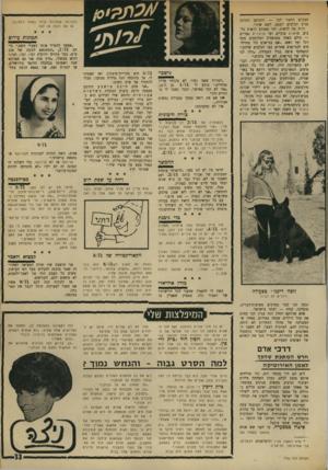 העולם הזה - גליון 1740 - 6 בינואר 1971 - עמוד 33 | התרכז המקום הראוי לכך — והמופע סביב הכלבים הפעם, לשם שינוי. והיה מה לראות, למי שאוהב לראות כלבים• מדאנים ענקיים ועד פניצ׳רים גמדיים — כולם כאחד מטופחים