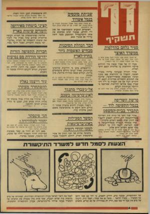 העולם הזה - גליון 1740 - 6 בינואר 1971 - עמוד 4 | שביתת מובסים בנמל אשדוד 60 שוטרי המכס בנמל אשדוד מתכוננים להכריז על סיכסוך־עבודה ואף לשבות, אם לא תמלא הנהלת הנמל את דרישותיהם. השוטרים תובעים תופפת-שכר של 200