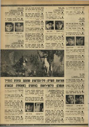 העולם הזה - גליון 1756 - 27 באפריל 1971 - עמוד 19 | .״ ניואל ח׳ בבית־הספר • ״בלפור היה רוסי, חוזה מדינת ישראל( ״.יגאל הורוביץ, 10 , תלמיד כיתה ד׳ בבית־ספר תל־נורדוי). … #״זאת היי ד כגבול הודו- סין, שיש שם כעת