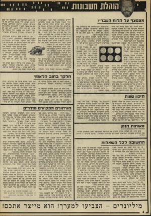 העולם הזה - גליון 1777 - 22 בספטמבר 1971 - עמוד 6   השלת השנונות מצפצףעדה דו ח הונ ב ר !, אחת לשנה, כמו שעון מתוח, אני חוזר להתקפה החביבה עלי נגד הבלוף, הגיחוך והעמדת־הפנים של המשתמשים בלוח העברי. אפילו ״העולם
