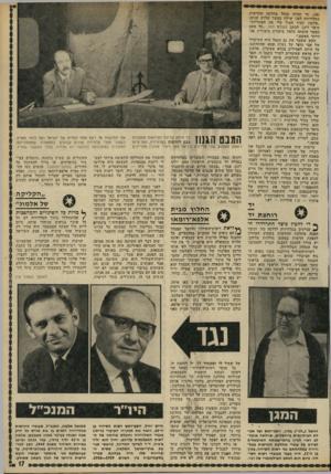 העולם הזה - גליון 1784 - 10 בנובמבר 1971 - עמוד 17   ( ,)38 מי שהיה מנהל מחלקת החדשות בטלוויזיה לפני שילון במשך שלוש שנים: ״אלמוג תמיד הטיל עלי את האחריות״ סיפר רונן, לכתב העולם הזה ,״כל פעם כאשר הוטחה כלפיו