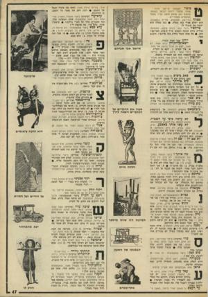 העולם הזה - גליון 1794 - 19 בינואר 1972 - עמוד 47 | צוני׳,ב מיד ה גדולה מאוד. דפקו את פועלי הנמל עד העצם • .רבין דפק את נאצר עד העצם. )2הזדווגות. זלזול : קריאת השמעת טזטוז טוזזז. התחיל ירוחם לסלסל בשפמו. פתאום