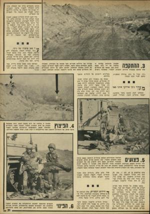 העולם הזה - גליון 1811 - 17 במאי 1972 - עמוד 31 | הגיעו והמצרים צלחו את התעלה. בינתיים התחילו להפגיז אותנו. המצרים ירו פגזים כדי לחפות על צליחת חייליהם ושלנו הפגיזו את השטח כדי להבריח את המצרים. מיד רצנו