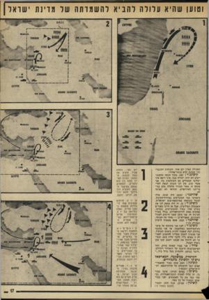 העולם הזה - גליון 1953 - 5 בפברואר 1975 - עמוד 17 | וטוען שהיא עלולה להביא ל ה שמד תה שר מדינת ישראל הפעולה תארך יום אחה והכוחות יתוגברו תוך שמונה ימים בגשר־אודרי. קיסינג׳ר: זאת, מתוך הנחה !שהסובייטים לא יזוזו.