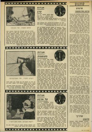 העולם הזה - גליון 1981 - 20 באוגוסט 1975 - עמוד 37 | קולנוע סרטים 4ו1ח פרסי נוסח 91ו 0ד פסטיבל־ד,סרטים במוסקבה, הוא הממוש מע ביותר בעולם. מדוע? -משום שאין מגי עים לשם, אלא־אם־כן ניימנים עם אנשי- שלומם של הדוסים.