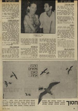 העולם הזה - גליון 2009 - 3 במרץ 1976 - עמוד 8 | מכתבים מנתבים ברוכת נמשכת. אילו היכרנוהו אישית, טורחים חיינו אפילו לשלוח גלויית־ברכה עם ברכת הגומל. אולם מה להדפסת המלל -הרב שהופנה אליו אישית, ולשמעון הדן
