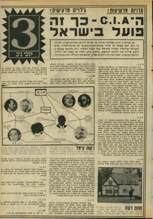 העולם הזה - גליון 2061 - 2 במרץ 1977 - עמוד 17 | גילויים מרעישים! עוויות מרשיעות! ה ־ גיוי ס ־ כו 1ה פו ע ל בי שראד אל מערבת 3הגיעו כאחרונה עדויות של הכריס וידידים, וביניהם העורך, המורות על קיום רשת סבוכה של