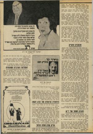 העולם הזה - גליון 2070 - 4 במאי 1977 - עמוד 17 | .3״שטחים מוחזקים״ הוא ביטוי. של פסיכו- פאטים מוכים בתסביך אשמה. החזקים והיפים (ששמורה להם הבלעדיות על התואר ״בני־אדם משתמשים במונח ״שטחים משוחררים״. המודעה