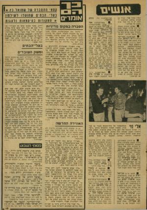 העולם הזה - גליון 2077 - 22 ביוני 1977 - עמוד 17 | פיק, הידוע בדיעותיו הימניות הקיצוניות, הוא הזמר החביב על צעירי הליכוד. … ,מחדלי ההפכרה׳ של הממשלה היו נושא הכיב על הליכוד כל שנות שיבתו כאופוזיציה. … בהתנגשות
