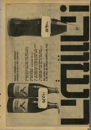 העולם הזה - גליון 2078 - 29 ביוני 1977 - עמוד 10 | אחד של מאלט לעומת ליטר אחד של משקה קל אחר• פ1זות כס ף -ליטר אחד של מאלט עולה לך \ 10 פחות מליטר של המשקה הקל האחר. • פחות קלוריות ־ בליטר אחד של מאלט יש ^ 20