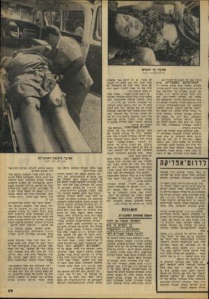 העולם הזה - גליון 2085 - 17 באוגוסט 1977 - עמוד 29 | פצועה על הכפיש שילדת־הפלדה גררה הוזכר שימו של גלבים עד לאותו רגע. הפובליציסט ׳מאבסודום. אדיד, גלבלום, העומד כיום בראש מישדד ל־פירסום וליחסי-צקבור, ,סוכר לרבים