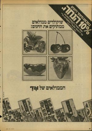 העולם הזה - גליון 2088 - 7 בספטמבר 1977 - עמוד 6 | הממולאים של * 72 ה עו ל ם הז ה
