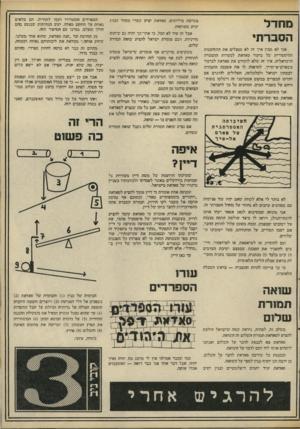 העולם הזה - גליון 2099 - 23 בנובמבר 1977 - עמוד 55 | מחדל חסובורתי אני לא מבין איך זה לא מנצלים את ההזדמנות ההיסטורית של ביקור סאדאת למטרות !ההסברה הישראלית. איך זד< שלא לוקחים את סאדאח לביקור !בשארם ־א ־שייך,