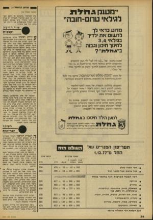העולם הזה - גליון 2101 - 7 בדצמבר 1977 - עמוד 39 | ס ר 1טן ברמח ־ ג ן (המשך מעמוד )12 לגילאי שיד. זהמיסחר. מועסקים י0ו כ־ 400 עובדים, כך ׳שגם למישרד העבודה יש עניין בו. חדבר !היחידי שיש בכוחנו ׳לעשות הוא לשלול