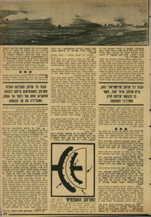 העולם הזה - גליון 2124 - 17 במאי 1978 - עמוד 58 | אופטימלי, שמעבד לו עלולה הארכת קווי החזית לדלל את היחס שכין היקף הכוה המגן לבין המרחב המוגן אל מתחת ל״סף הקריטיות״ ,היינו: אותו סף, שמעבר לו ההגנה אינה אפשרית