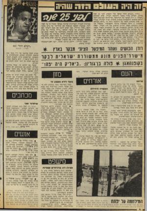 העולם הזה - גליון 2129 - 21 ביוני 1978 - עמוד 4   1ההיה הווו( שווהשהיה גיליון ״העולם היה״ שראה אדר השבוע לפניי 25 עמה כדיוק, הל,ריש מדור מרכזי לרשימת העודר, תחת הכותרת ״הטרור — דרך הביטוי של הנחותים״ ,שהוקדשה