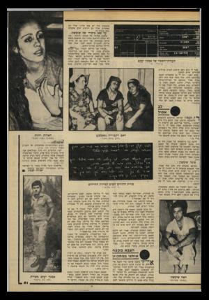 העולם הזה - גליון 2191 - 29 באוגוסט 1979 - עמוד 51 | מהבסיס שלו לא באו אלינו, אולי הם מפחדים, אולי הם יודעים שהם אשמים במה שקרה לו. עד כאן סיפורו של שימשון. טוענת אחותו של אמנון, רונית :״אני לא יכולה להימנע