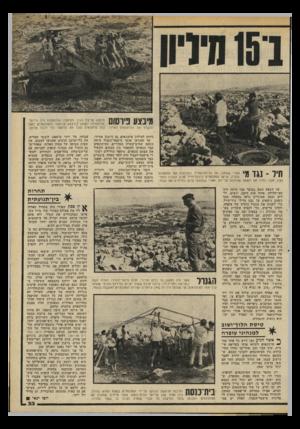 העולם הזה - גליון 2197 - 10 באוקטובר 1979 - עמוד 33 | מינצע פיושס מיבצע פריצת הגדר והרחבת ההתנחלות היה מייועד מלכתחילה לשמש ׳כמיבצע פורסומי והמתנחלים דאגו להעביר את העיתונאים לאיזור. כמה עיתונאים נצלו את הדחפור