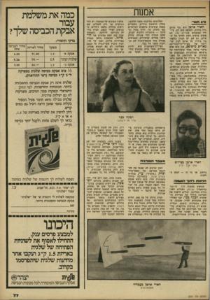 העולם הזה - גליון 2229 - 20 במאי 1980 - עמוד 77 | חד1נ1זז דוז1ן־ הוסווה הצופים בהצגת מלך מרוקאי בתיאטרון הבימה, העולים לאכסדרה העליונה, יכולים לראות את תערוכת היחיד של הציירת וה שתנית רכקה ככר.