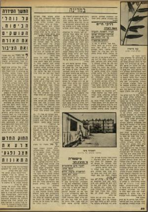 העולם הזה - גליון 2240 - 6 באוגוסט 1980 - עמוד 51 | במדינה שני הנאשמים האחרים, וביניהם בעל המכונית, איסאק, נדחה לאחר דרכי חיים אשד. ד 1בדה צעירי השכינה התעללו בגרושה הצעירה ואיימו על חיי ילדיה אם תתלונן במישטרה
