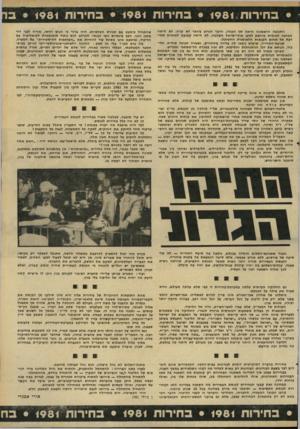 העולם הזה - גליון 2287 - 1 ביולי 1981 - עמוד 3   • כחירות • 1981 בחירות • 1981 בחירות • 1981ב התגובה הראשונה היתה של הקלה. … הן לא היו כלל בחירות לכנסת. … בחירות בחברה דמוקרטית דומות לבחינות בבית-הספר.