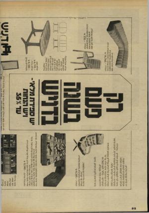 העולם הזה - גליון 2306 - 11 בנובמבר 1981 - עמוד 78 | זה קורה ע כ שיו בדני ש: אנ חנו מ ת כונני םלמ אזן ה שנתי. אנ חנו רוצים לצמצם א ת המל אי. כדאי לגו לאפ שר לכם לרכוש החודש -ב הנ חו ת ממ שיות -רהיטי דני שמה מל אי