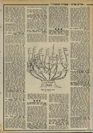 העולם הזה - גליון 2373 - 23 בפברואר 1983 - עמוד 62 | ״אריק שרון -שגריר בי איר!״ (המשך מעמוד )44 מספיק אינטליגנטי לדעת לפני פד. עומדת המדינה, שהיתד. קיימת רק שלוש שנים. כבר היה ברור שזה סוף הקולוניאליזם ומדינות