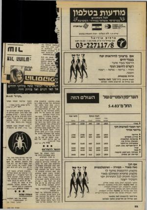 העולם הזה - גליון 2382 - 27 באפריל 1983 - עמוד 22 | יוסי זיז, תל־אביב בעיקבות הדברים האחרונים ש אמר רפאל איתן, שבהם התייחס ל ערבים כג׳וקים — דברים המהווים חוליה בשרשרת ארוכה של דיברי נאצה כנגד הערבים בכלל והפלס