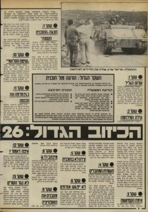העולם הזה - גליון 2388 - 8 ביוני 1983 - עמוד 8 | בסוף השבוע התפרסמו בכמה יומונים דוחות על מילחמת־הלבנון, על אופן קבלת ההחלטות, על המטרות האמיתיות של המילחמה ועל התנהגות הממשלה וצה״ל. למעשה, מאשרים דוחות אלה
