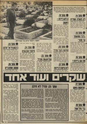 העולם הזה - גליון 2388 - 8 ביוני 1983 - עמוד 9 | בעמודים אלה מסכם ״העולם הזה״ את השקרים הבולטים של השלישיה המובילה — מנחם בגין, אריאל שרון ורפאל איתן, כפי שהם עולים מן הדיווחים של אבי בטלהיים, אברהם תירוש