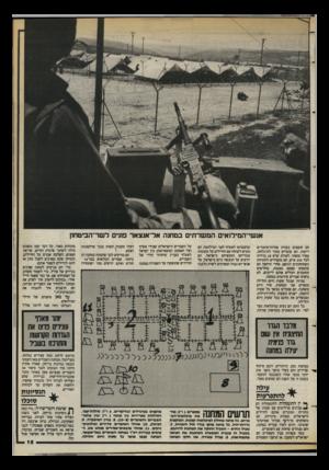 העולם הזה - גליון 2399 - 24 באוגוסט 1983 - עמוד 15 | אנשי־המילואים המשרתים במחנה אל־אנצאר פונים לשר־הביטחון הם חופפים בעזרת פחיות־שימורים ריקות. הם עומדים נתור לתיגלחת, בסדר מופתי, למרות שיש 20 ברזיות לכל 350