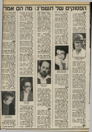 העולם הזה - גליון 2401 - 4 בספטמבר 1983 - עמוד 61 | הפסוקים שד תשמ״ ג מה הם אמר ת שרי • העיתונאי שלום רו־זג ס ל די -למחרת הפורגרום במחנות־הפליטים בביירות, כא שר ניצבתי, כמדי בוקר, לגילוח לפני הראי, ירקתי