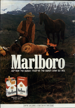 העולם הזה - גליון 2437 - 16 במאי 1984 - עמוד 73   אזהרה ; משרד הבריאות קובע כי־ העישון מזיק