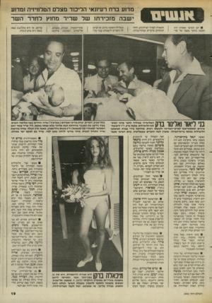 העולם הזה - גליון 2442 - 20 ביוני 1984 - עמוד 18 | יום השישי האחרון היה הקשה ביותר שעבר על שר־ מדוע ברח רעיונאי הליכוד מצדם הטלחיזיה 1מד1ע ישבה מזכירתו של שריר מחוץ לחדר השר התאורה לצורך הצילומים, החלו הנוכחים