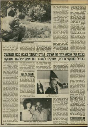 העולם הזה - גליון 2466 - 5 בדצמבר 1984 - עמוד 19   צון לקבל מדים ונשק, מביאים אותם לשורותיו. אסילו תושבי הדרום כבר הדביקו להם את הכינוי ״ג׳נוד מעאש״ — חיילי משכורת. הבעיה החמורה ביותר בצד״ל, אחרי בעיית הגיוס,