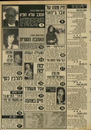 העולם הזה - גליון 2642 - 20 באפריל 1988 - עמוד 3 | בזיבחביבז הספד מפירנצה על הקורבן בכפר בימא (״טיול ה ד מים״ /העולם הז ה .)13.4.88 תירצה פורת, היקרה והענוגה, שבלא־עת נלקחה למוות מאיתנו עוד קורבן טרי, נערה