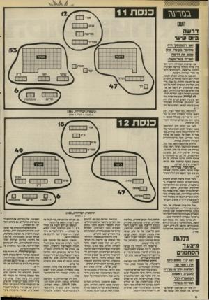 העולם הזה - גליון 2671 - 9 בנובמבר 1988 - עמוד 6 | ולא חיים וייצמן. וכמובן לא זאב ז׳בוסינסקי.