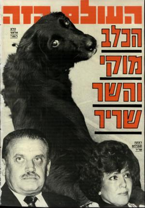 העולם הזה - גליון 2673 - 23 בנובמבר 1988 - עמוד 44 | לגמר• ;=ים רבקה ואברה