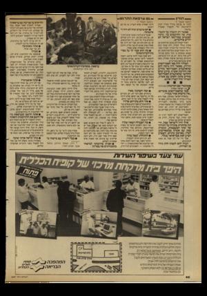 העולם הזה - גליון 2687 - 1 במרץ 1989 - עמוד 40   — .הנדון (המשך מעסזד )5 לבנון או פגיעה בחייל בארץ רצים ! לוושינגסון כרי להסביר שאש״ף ; .מרמה״. אפשר רק לתמוה על התמימות של החושבים כך. נדמה לפעמים שמדינאי