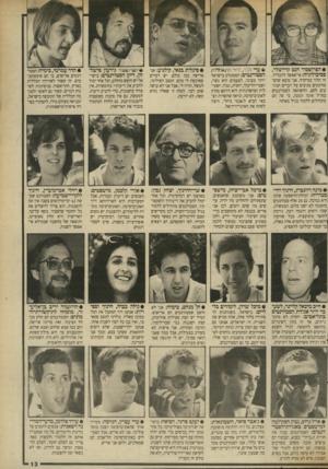 העולם הזה - גליון 2698 - 17 במאי 1989 - עמוד 13 | • הפרופסור הנס קרייטלר, פסיכולוגיה: אי־אפשר להכליל. זה תלוי במיקרה. אני מוצא שהסטודנטים מגיבים על דברים הנוגעים להם. ההשוואה לסטודנטים בחו״ל אינה הגונה, כי פה