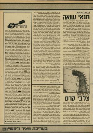 העולם הזה - גליון 2707 - 19 ביולי 1989 - עמוד 45 | כשהסיפוק ממות יהודים גובר, הוא עלים בליטוטל צלב קרס זה קרה לפני 50 שנה בגרמניה. … לפני שמונה שנים הם התעללו בלבושם של הררים במונטריאול, וכעת הם מציירים