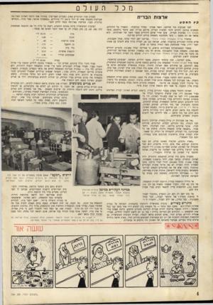 העולם הזה - גליון 704 - 26 באפריל 1951 - עמוד 4 | מכל ארצות הברית המסע לפני שבועות חזר שליחנו, רפאל אפרת. מסיור בגרמניה• ומאמרו על היהודים, המחכים במינכן לתורם להגר לארצות הברית, פורסם בגליון •697 מונטי