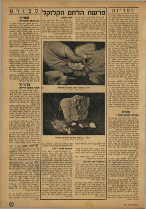 העולם הזה - גליון 776 - 11 בספטמבר 1952 - עמוד 11 | ב nד י jף. שאין לא כל תפקיד אחר מאשר שמירת זכויות חבריו, בטוח יותר בידיהם. ביצוע המזימה לא היה קשה ביותר. איגוד עובדי ה־מימה, שטרם בחר בנציגיו מאז הקמת המדינה׳
