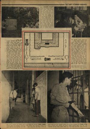 העולם הזה - גליון 780 - 9 באוקטובר 1952 - עמוד 4   בין האנשים, אוהדי אצ״ל וסוכניו במשטרה ובצבא שנתבקשו לספק אינפורמציה מתאימה, היה גם שוטר • ששירת במשטרת רמת־גן, התגורר בה בחברת אשתו וילדיו. הוא גילה, בראיון עם